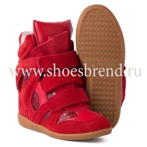 Isabel Marant Sneakers Snake Red