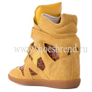 Isabel Marant Sneakers Snake Yellow