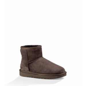 Ugg Womens Classic Mini Chocolate