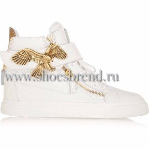 Giuseppe Zanotti 'Eagle' High Top Wedge Sneaker