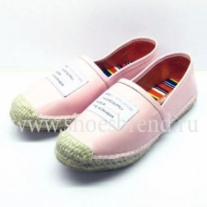 Marc Jacobs Espadrille Pink Leather