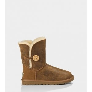 UGG Bailey Button Bomber-Chestnut