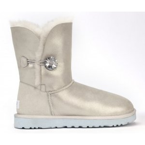 UGG Bailey Button-I DO-White
