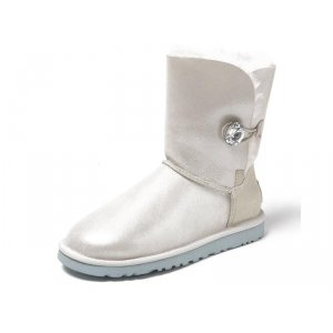 UGG Bailey Button -  I DO White