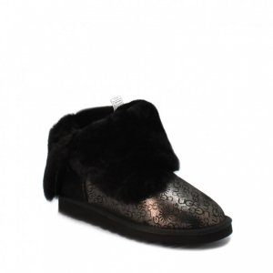 UGG Bailey Button Fancy - Black