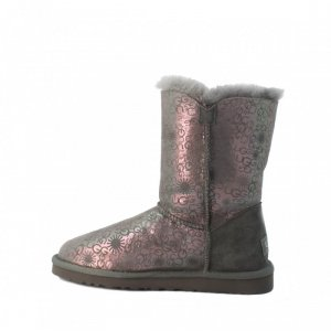 UGG Bailey Button Fancy Grey