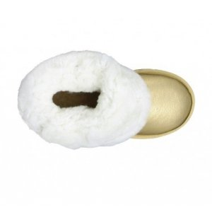 UGG Women Bailey Button Metallic-GOLD