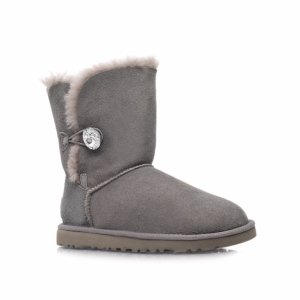UGG Bailey Button Bling-Grey