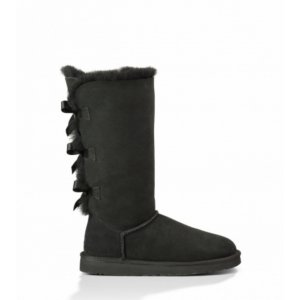 UGG Bailey Bow Tall-Black