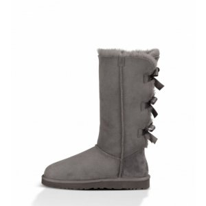 UGG Bailey Bow Tall-Grey
