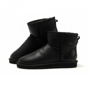 UGG Mens Classic Mini Metallic - Black