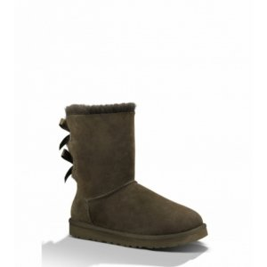 UGG Bailey Bow - Chocolate
