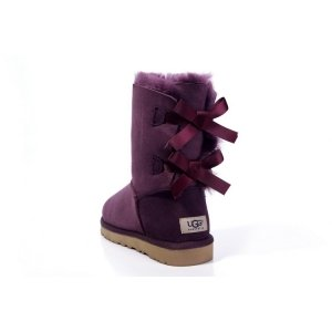 UGG Bailey Bow - Bordeaux