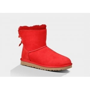UGG Mini Bailey Bow - Red