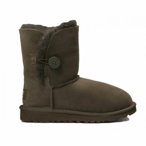 UGG Kids Bailey Button - Chocolate