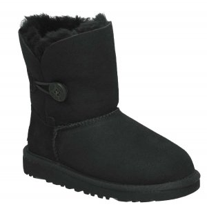 UGG Kids Bailey Button - Black