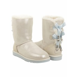 UGG Bailey Bow Short Bling I Do