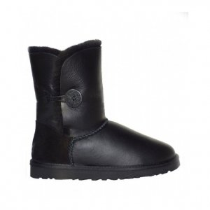 UGG Bailey Button Metallic - Black