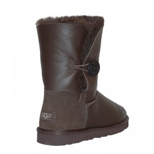 UGG Bailey Button Metallic - Chocolate