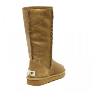 UGG Women Classic Tall Metallic Copper