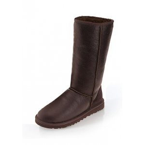 UGG Classic Tall Metallic - Chocolate