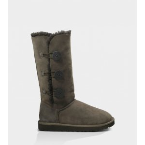 UGG Bailey Button Triplet - Chocolate
