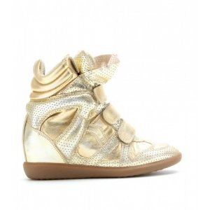 Isabel Marant Sneakers Gold