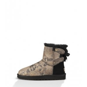 UGG Mini Bailey Bow Snake - Black