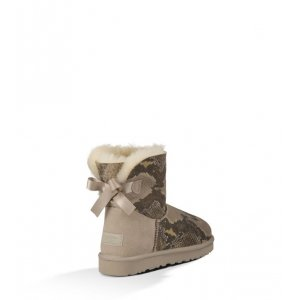 UGG Mini Bailey Bow Snake - Metal