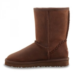 UGG Classic Short Leather Chocolate