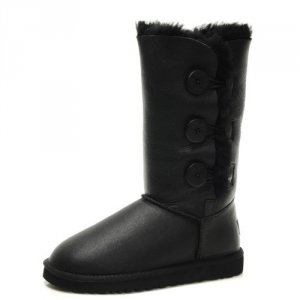 UGG Bailey Button Triplet - Metallic Black
