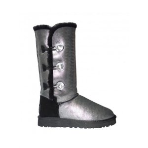 UGG Bailey Button Triplet Glitter - Black