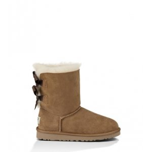 UGG Kids Bailey Bow - Chestnut