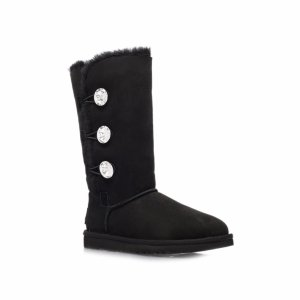 UGG Bailey Button Bling Triplet - Black