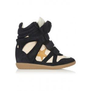 Isabel Marant Bayley Star White Black