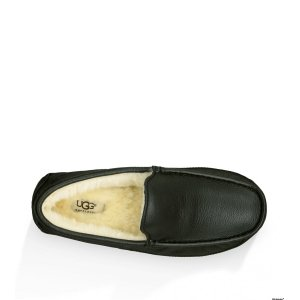 UGG Mens Ascot Metallic -Black