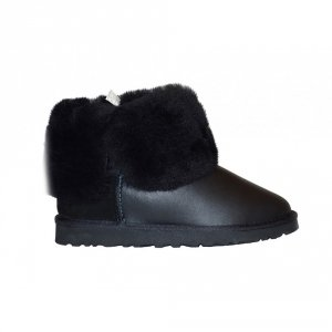 UGG Kids Bailey Button Metallic - Black