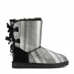 UGG Bailey Bow Bling Shearling -Lined