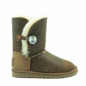 UGG Bailey Bomber Bling - Chestnut
