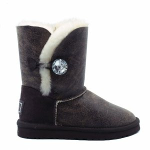 UGG Bailey Bomber Bling - Chocolate