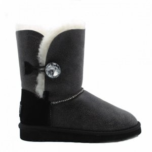 UGG Bailey Bomber Bling Black