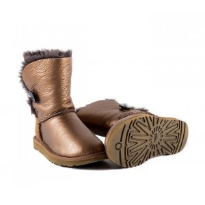 UGG Bailey Button Metallic - Bronze