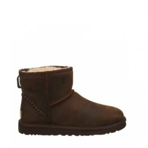 UGG Classic Mini Leather - Chocolate