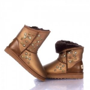 UGG & Jimmy Choo Starlit Metallic - Bronze