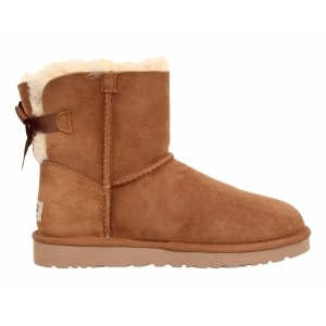 UGG Mini Bailey Bow - Chestnut