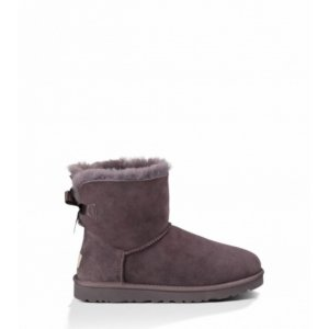 UGG Mini Bailey Bow - Chocolate