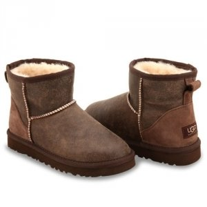 UGG Classic Mini Bomber - Chocolate