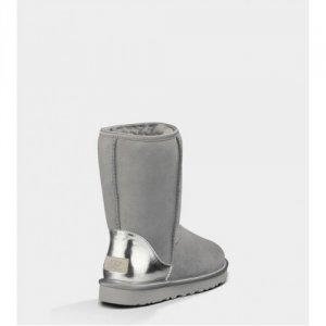 UGG Classic Short Patent Grey
