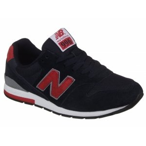 New Balance 996 - Black/Red