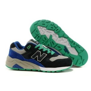 New Balance 580 - Black/Blue/Green